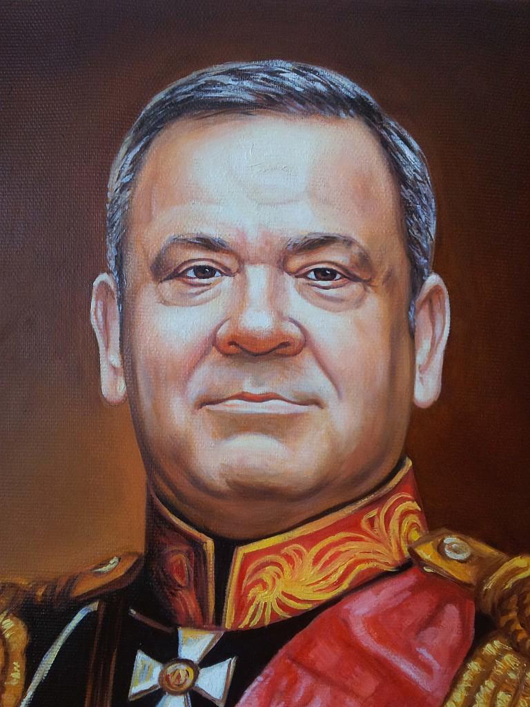 Портрет маслом на холсте во Владимире