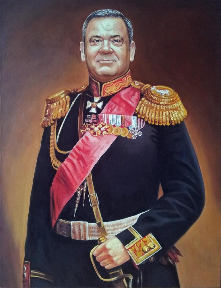 Где заказать портрет маслом во Владимире?