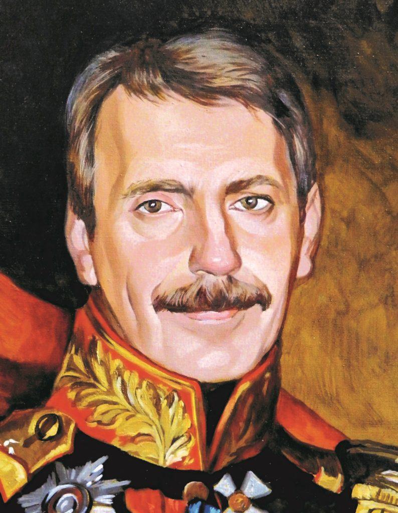 портрет маслом по фото Владимир
