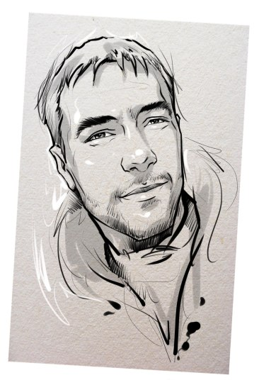 Портрет карандашом любимому мужу во Владимире…