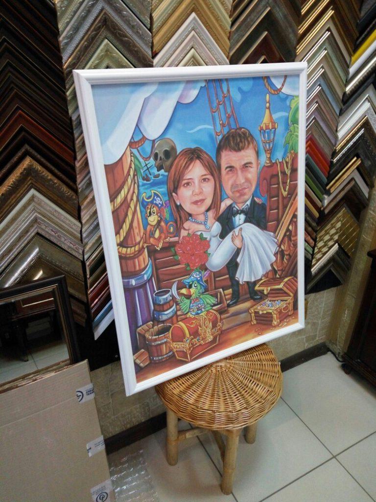 портрет шарж на заказ во Владимире