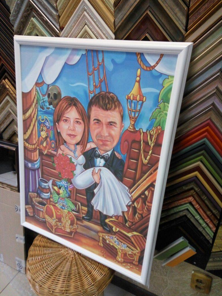 шарж по фото на заказ во Владимире