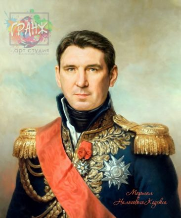 Портрет по фото на холсте в подарок мужчине во Владимире