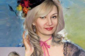 Заказать арт портрет по фото на холсте во Владимире