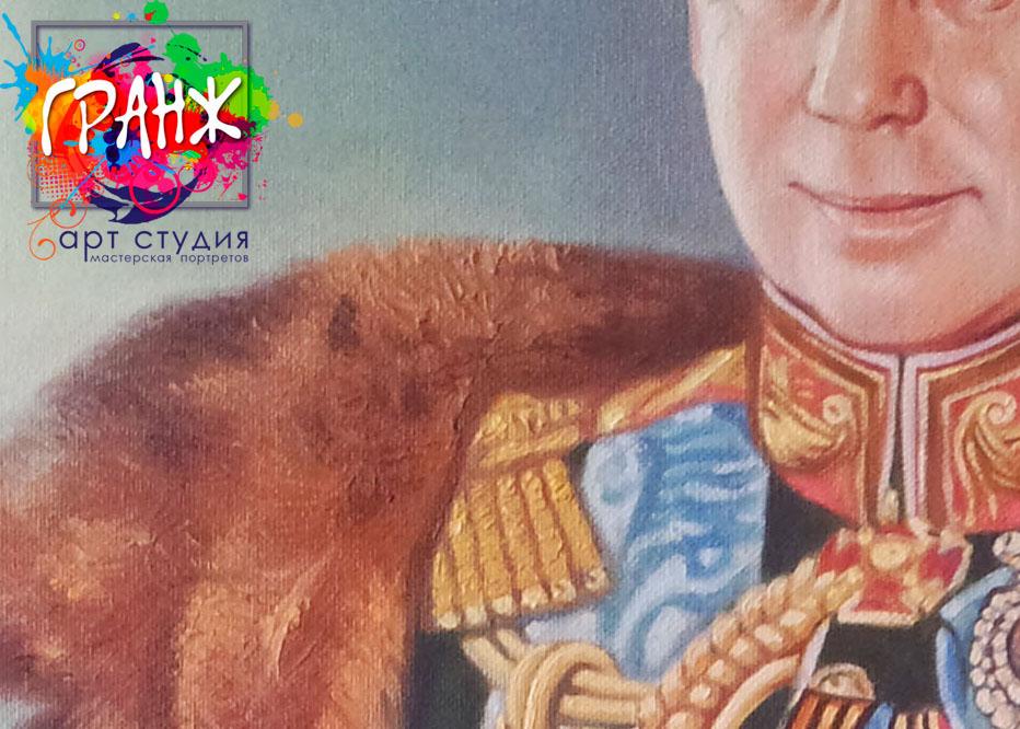 Заказать портрет маслом по фотографии в Владимире