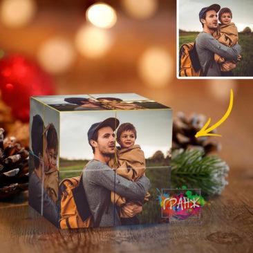 Фотокубик трансформер, купить в подарок Владимир